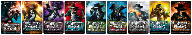 Image result for skulduggery pleasant series