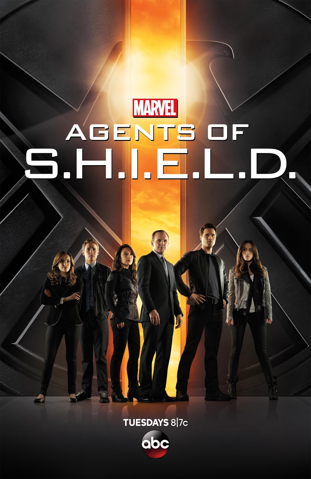 """Every """"Agents of S.H.I.E.L.D."""" Season Poster Ranked from Worst to Best -  The Geek Twins"""